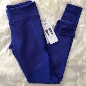 ALO Coast Yoga stirrup legging in royal blue NWT